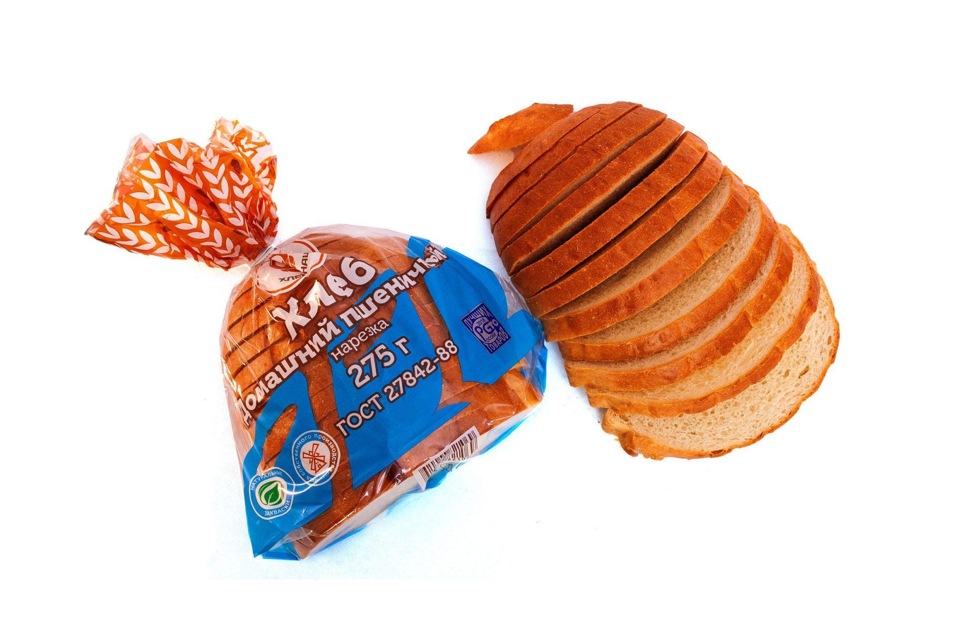 Хлеб-Домашний-пшеничный