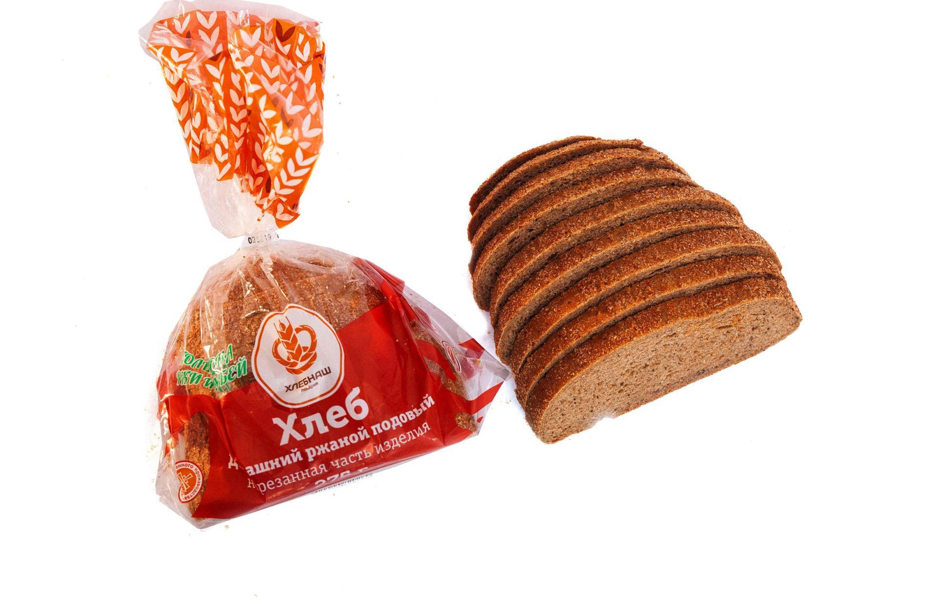 Хлеб-Домашний-ржаной
