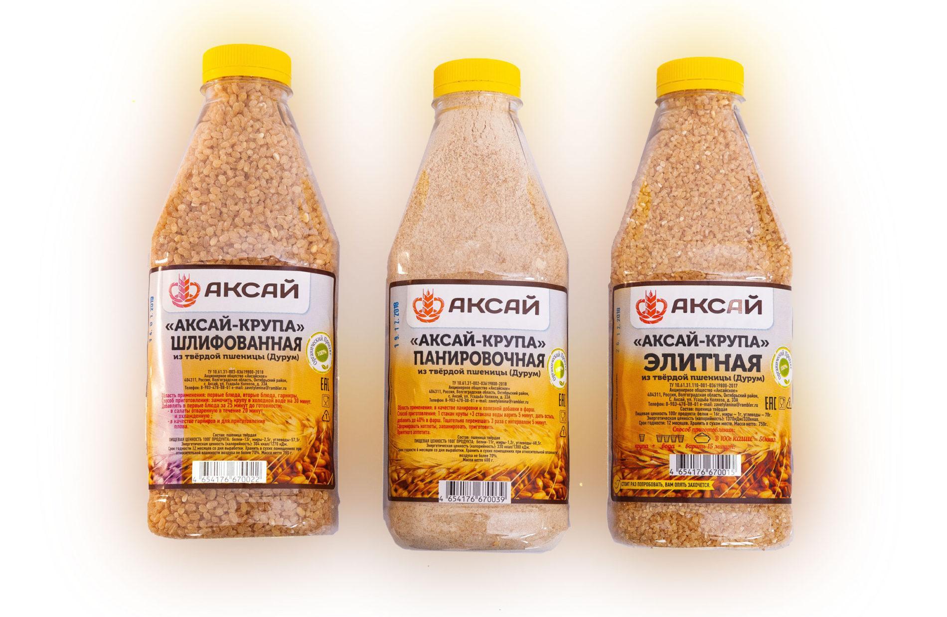 «Аксай-крупа» из твёрдой пшеницы Дурум