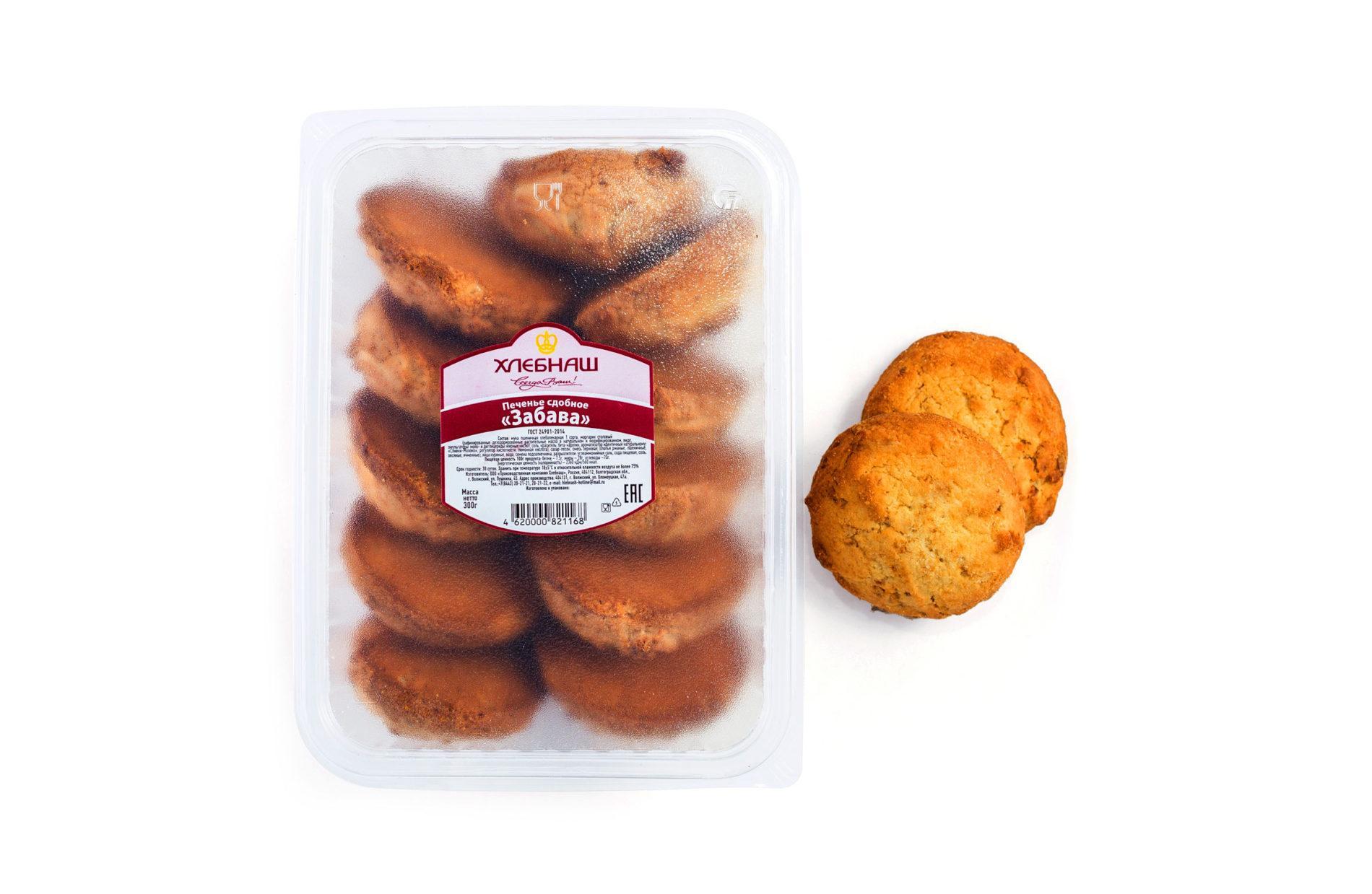 Печенье сдобное «Забава»