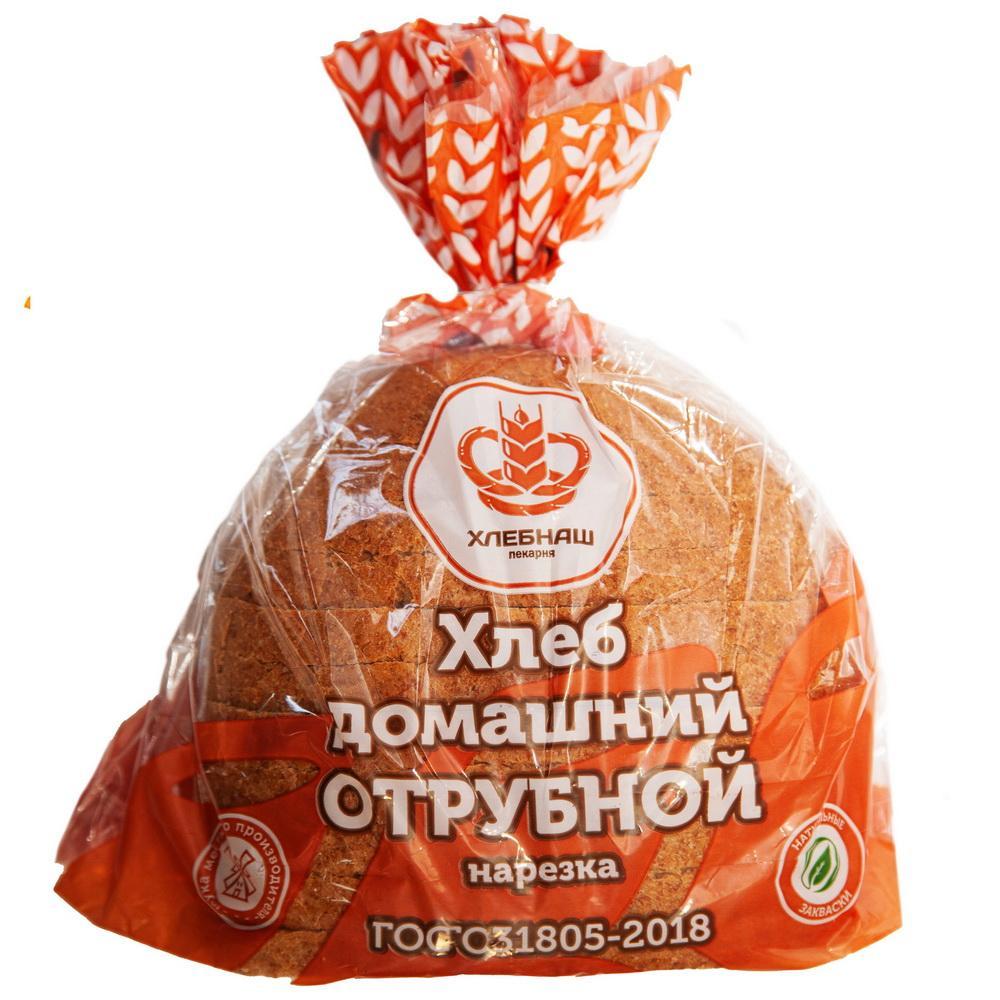 Хлеб домашний отрубной подовый